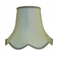 Duck Egg Blue Modern Fabric Lampshades