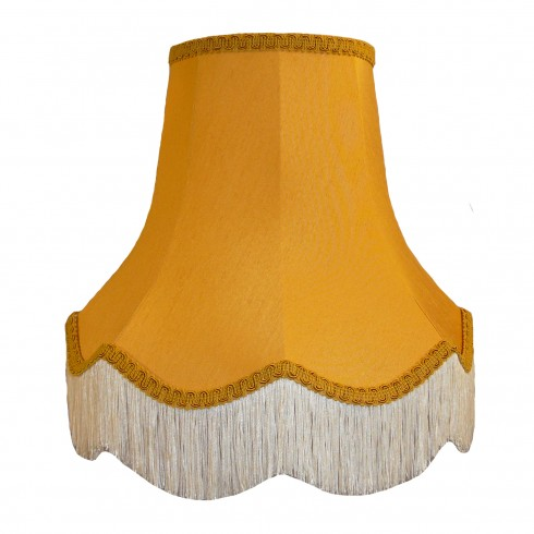 Gold Fabric Lampshades