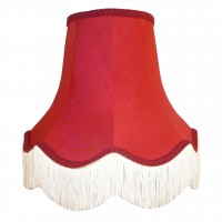 Rosso Red Fabric Lampshades