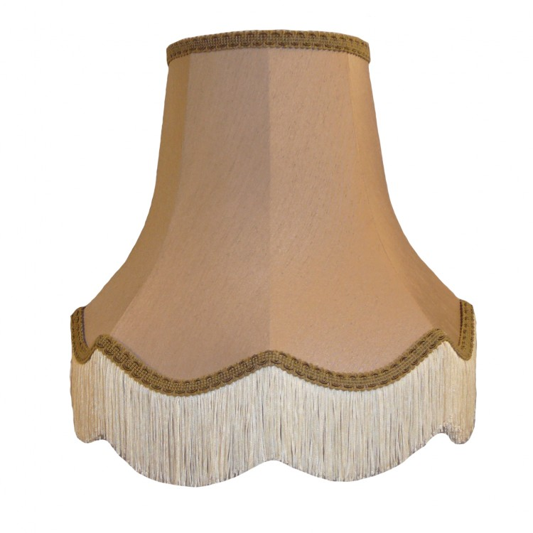 Brown Beige Fabric Lampshades