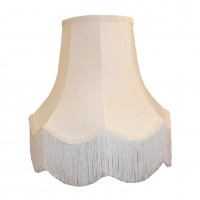 White Fabric Lampshades
