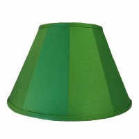 Emerald Green Contemporary Fabric Lampshades