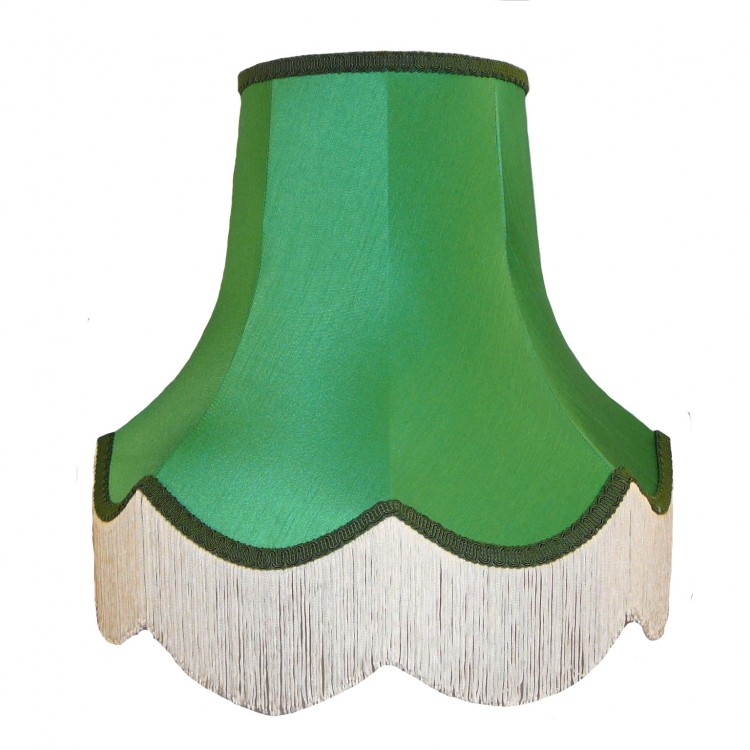 Emerald Green Fabric Lampshades