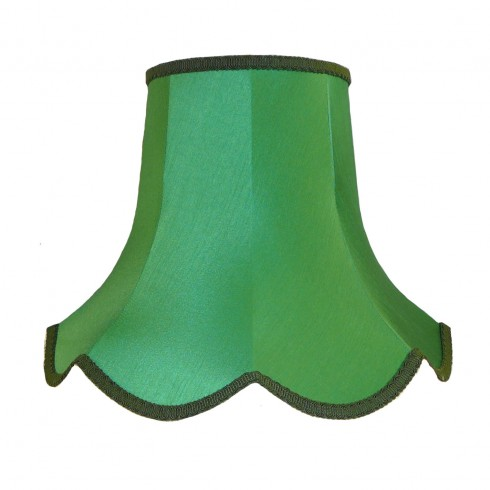 Emerald Green Modern Fabric Lampshades