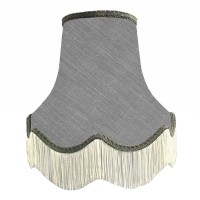 Flint Grey Fabric Lampshades