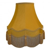 Gold Double Fabric Lampshades