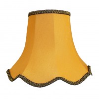 Gold and Black Modern Fabric Lampshades