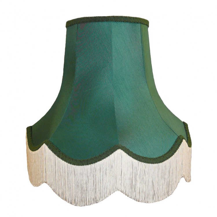 Holly Green Fabric Lampshades