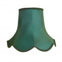 Holly Green Modern Fabric Lampshades