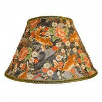 Oriental Koi Carp Contemporary Fabric Lampshades