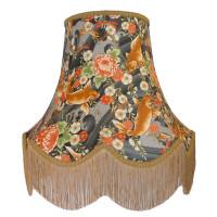 Oriental Koi Carp Fabric Lampshades