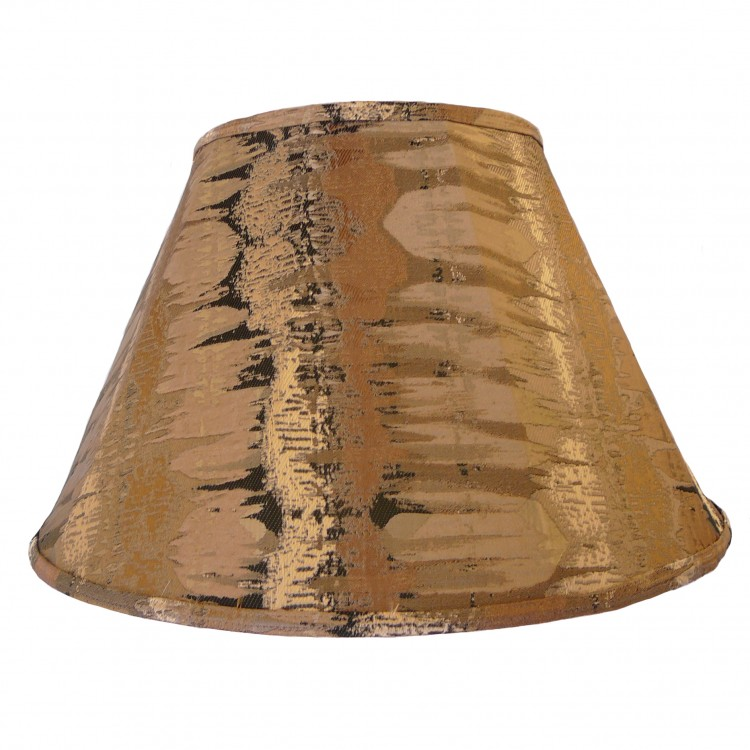 Moroccan Bronze Contemporary Fabric Lampshades
