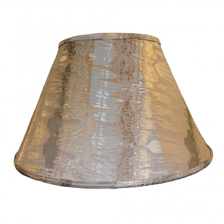 Moroccan Silver Contemporary Fabric Lampshades