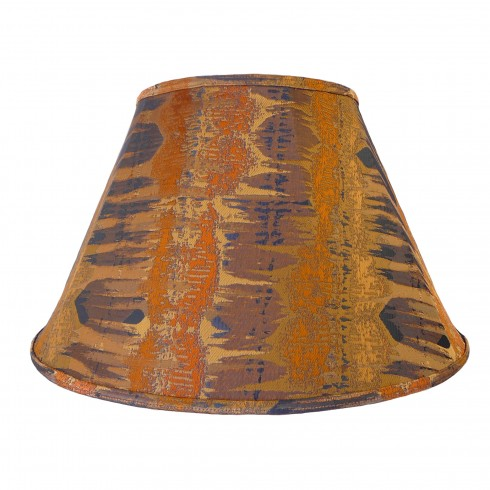 Moroccan Spice Contemporary Fabric Lampshades