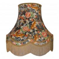 Oriental Koi Carp Fabric Double Lampshades
