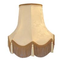 Paisley Jacquard Ivory Fabric Lampshades