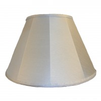 Powder Blue Contemporary Fabric Lampshades