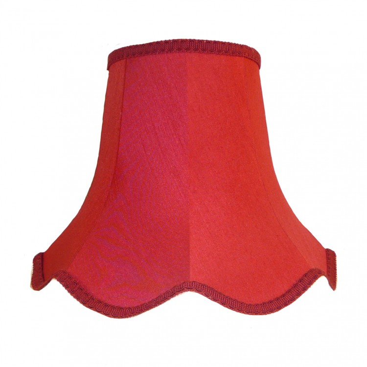 Rosso Red Modern Fabric Lampshades