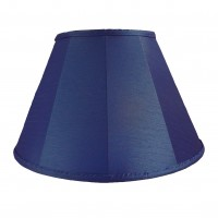Royal Blue Contemporary Fabric Lampshades