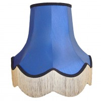 Royal Blue Fabric Lampshades
