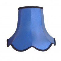Royal Blue Modern Fabric Lampshades