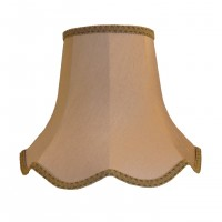 Brown Beige Modern Fabric Lampshades
