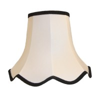 White Black Modern Fabric Lampshades
