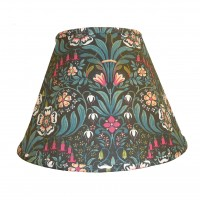 William Morris Black Contemporary Fabric Lampshades