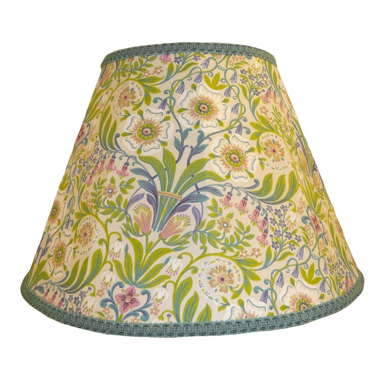 William Morris Natural Contemporary Fabric Lampshades