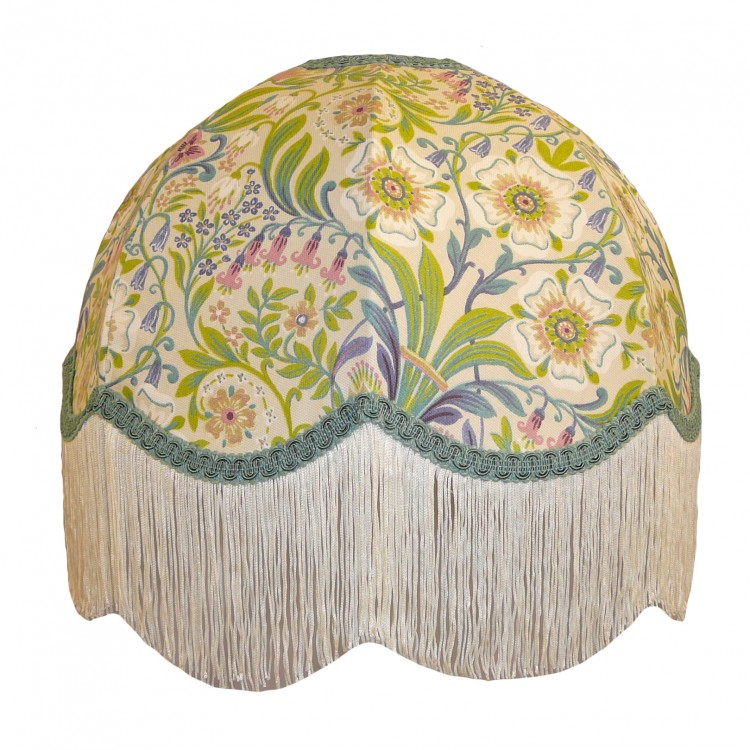 William Morris Natural Dome Fabric Lampshades