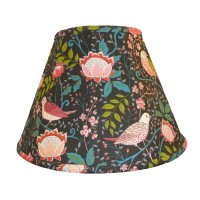 William Morris Strawberry Thief Contemporary Fabric Lampshades