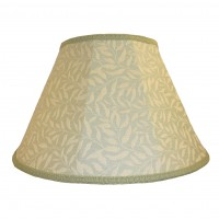 William Morris Willow Bough Light Green Contemporary Fabric Lampshades