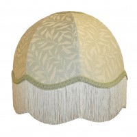 William Morris Willow Bough Light Green Dome Fabric Lampshades