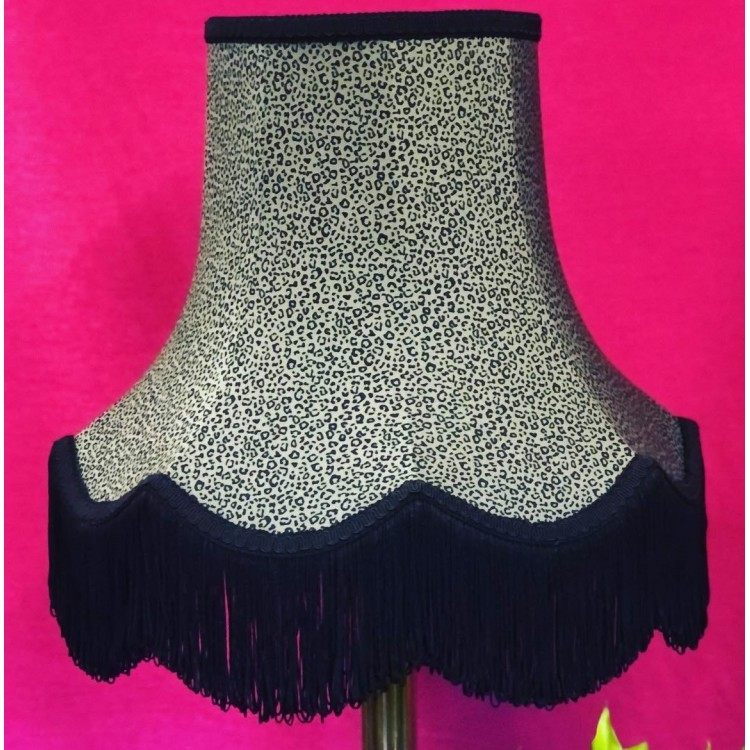 Khaki Animal Print Fabric Lampshades