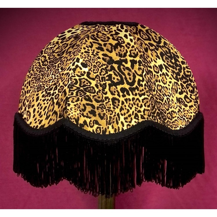 Leopard Animal Print Dome Fabric Lampshades