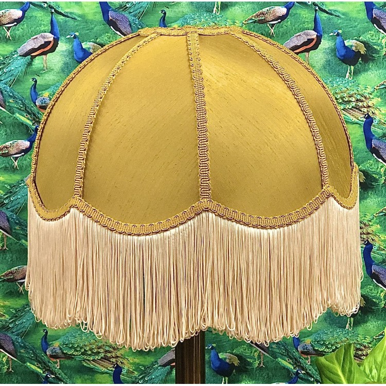 Ochre Dome Fabric Lampshades