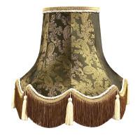 Paisley Dark Bronze Fabric Lampshades