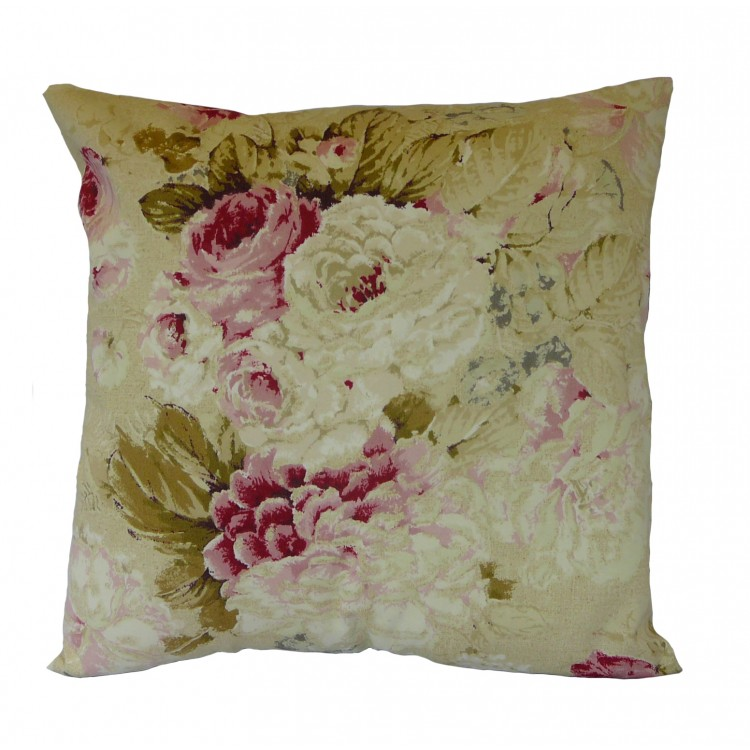 Chintz Floral Fabric Cushion Covers