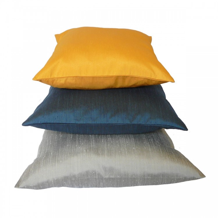 Plain Fabric Cushion Covers