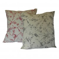 Floral Fabric Cushion Covers