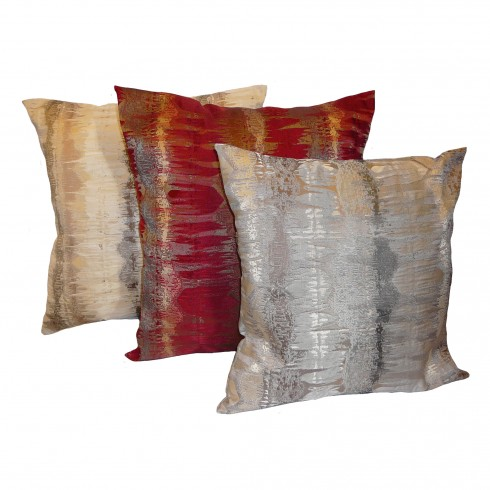 Inca Natural, Rosso or Silver Cushion Covers