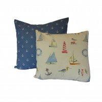Nautical Fabric Cushion Covers