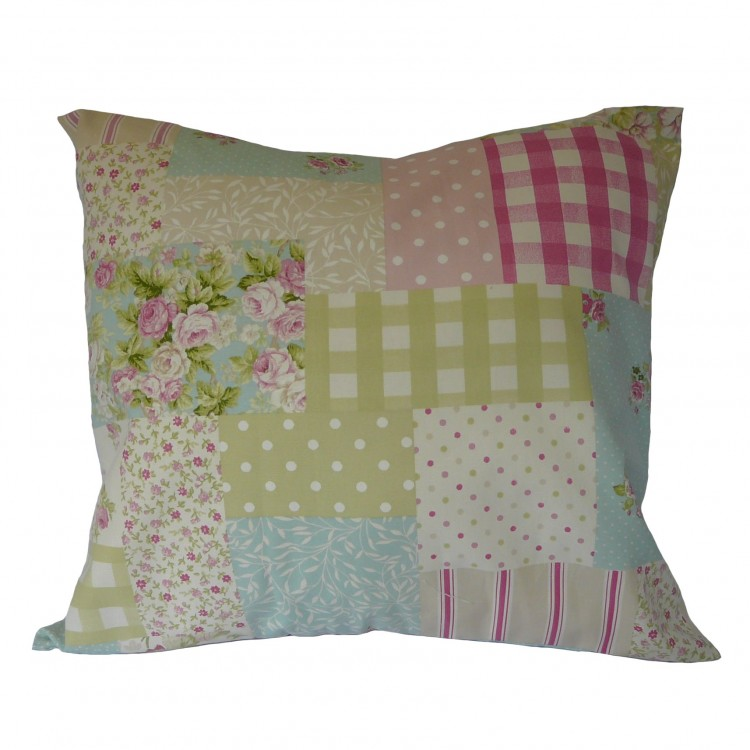 Patchwork Fabric Cushion Covers