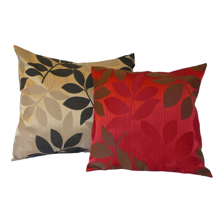 Leaf Fabric Cushion Covers