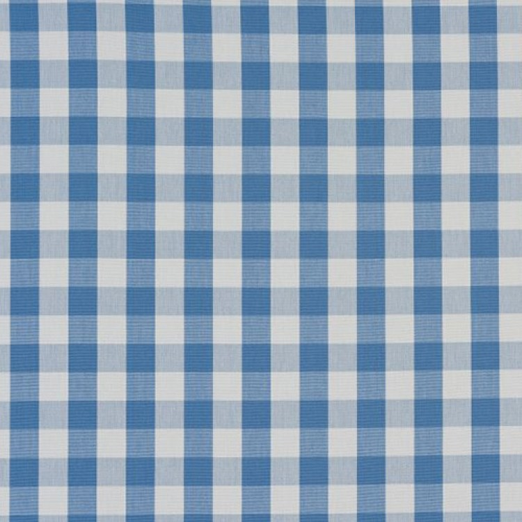 Cornflower Blue Gingham Swatch