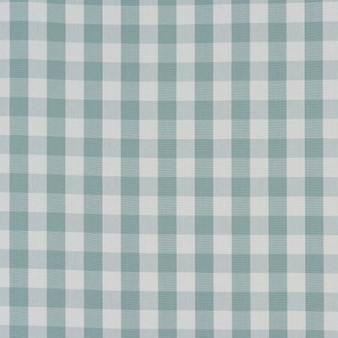 Harbour Blue Gingham Check Swatch