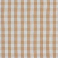 Natural Cream Gingham Check Swatch