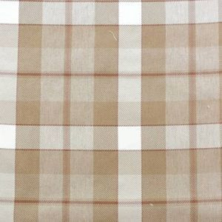 Oatmeal Beige Check Swatch