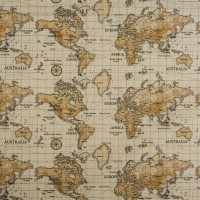 Burnt Orange Map Swatch