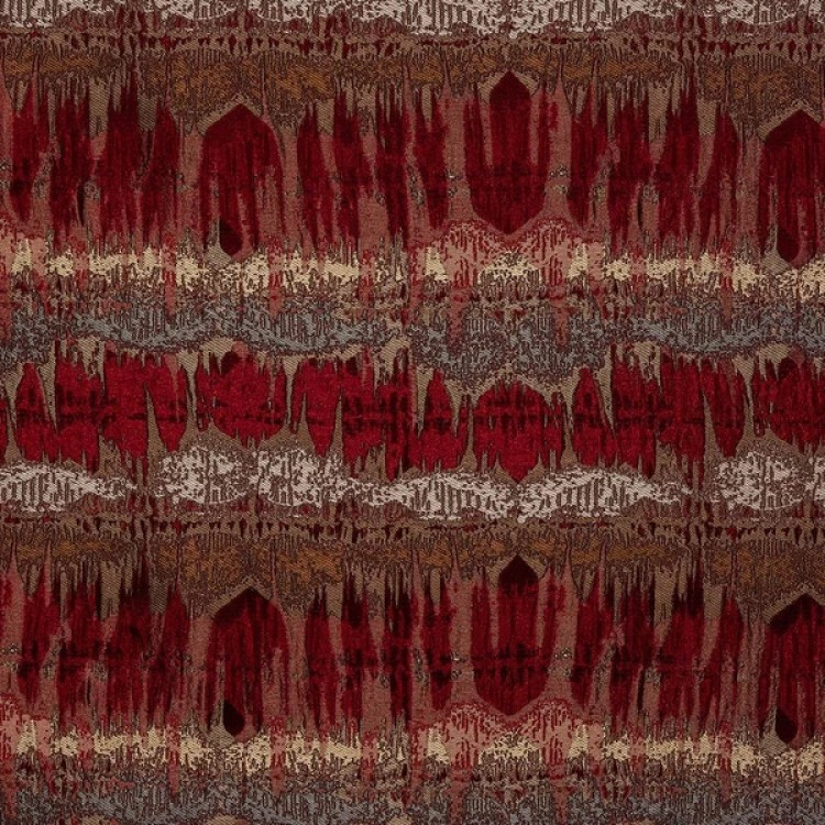 Moroccan Rosso Red Fabric